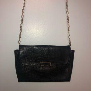 📣3 for $30📣 Crossbody black pleather bag